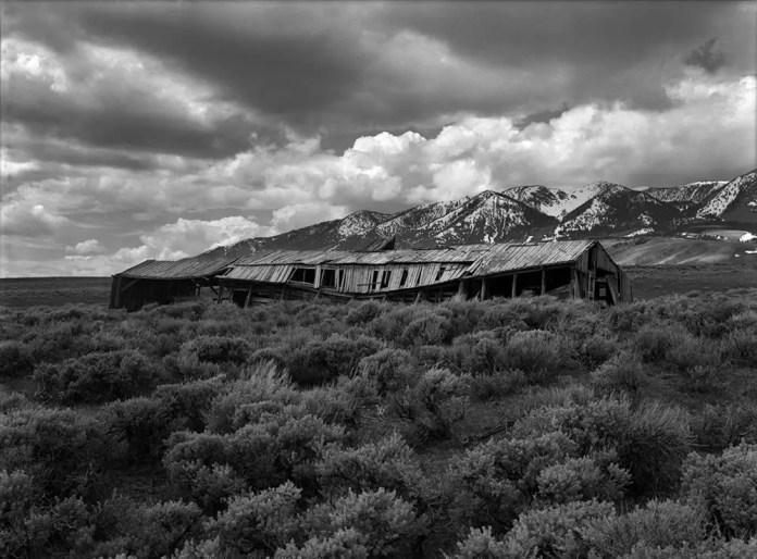Elk Mountain, Wyoming - Mamiya 645, Ilford Delta 100