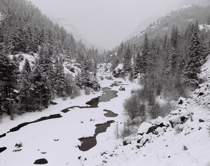 Poudre Canyon, CO - Mamiya RZ67, Ilford HP5