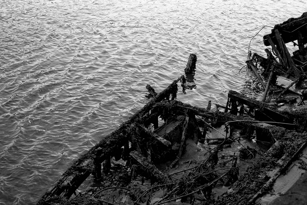 """""""Shipwreck"""" Newcastle, England, April 2016 - Ilford HP5+/ Zeiss IKON ZM / Zeiss 50mm f/1.5"""