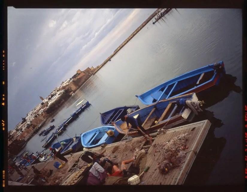"""Rabat, Marina de Saleh #4,"" Fuji 645zi, Fuji Provia 400"