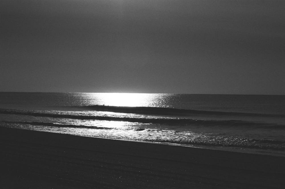 Sunset - Ilford FP4 Plus Pushed 1 Stop