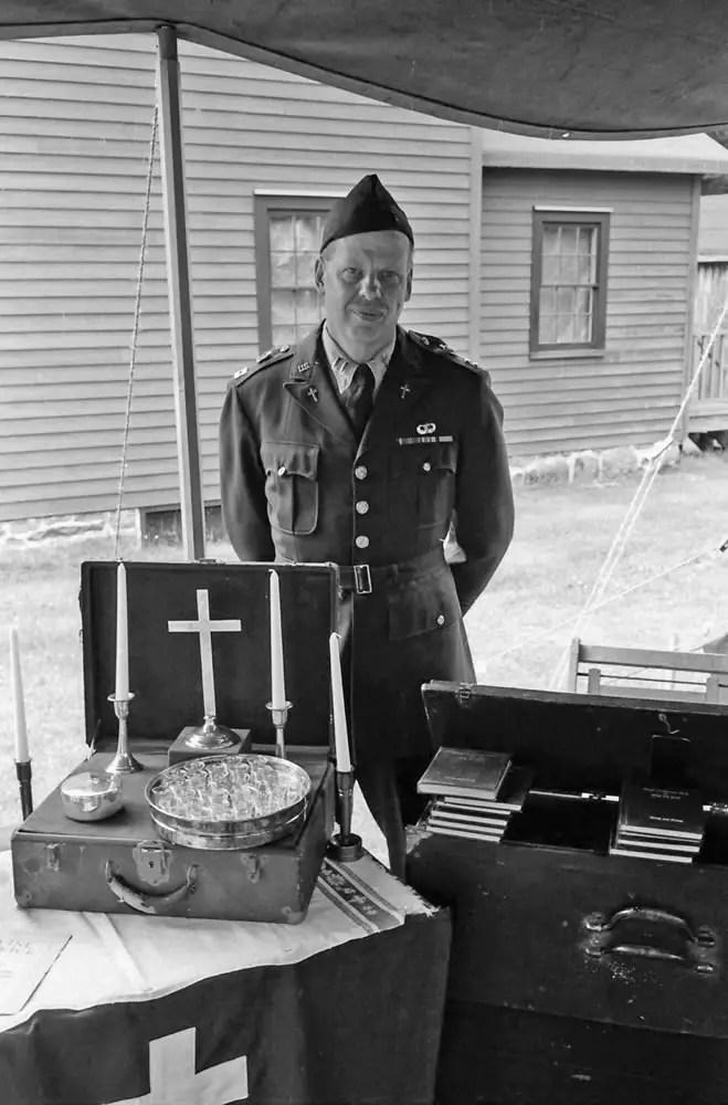 Chaplain, 45th Battalion, 7/14, Tri-X in HC110 Dilution H