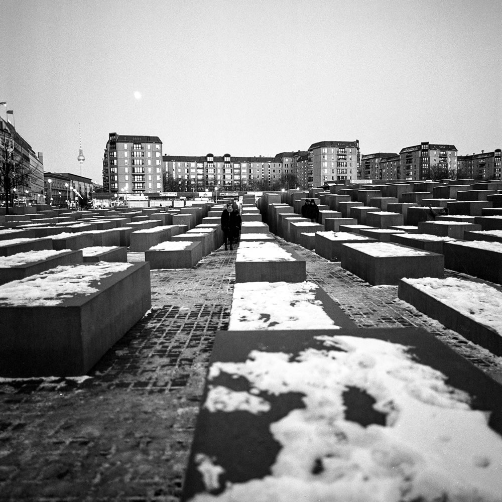 Holocaust Memorial - Hasselblad 500C-M - 50mm - Ilford HP5+ - ID11 - Epson v600