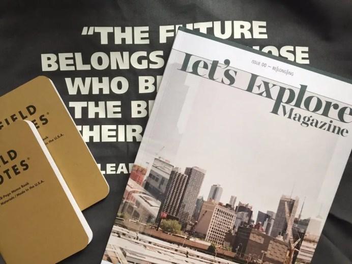 LEM Issue 00 in the Wild: Michael Permundum