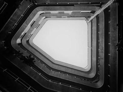 Oculus - Kodak T400CN shot at EI 320. Color black and white film in 120 format shot as 6x4.5.