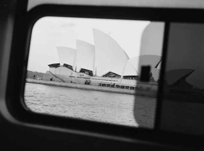 Sydney Opera House from ferry