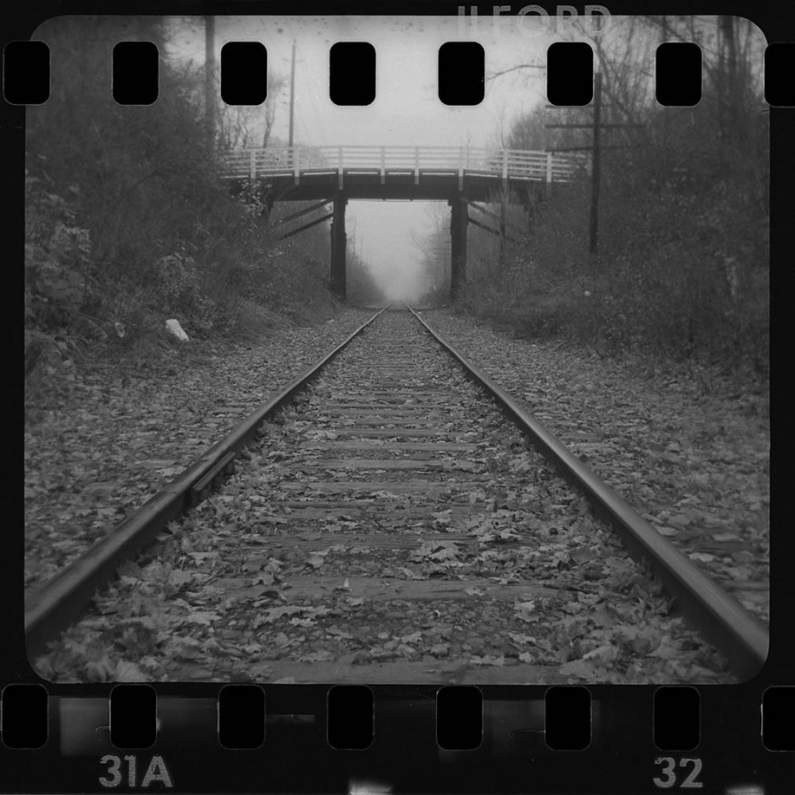 Kevin Collins - @KevinCollins00 - It ain't an #FP4Party until you hand roll some 35mm film into a 126 cartridge and shoot from a Kodak Instamatic. @FP4Party #believeinfilm