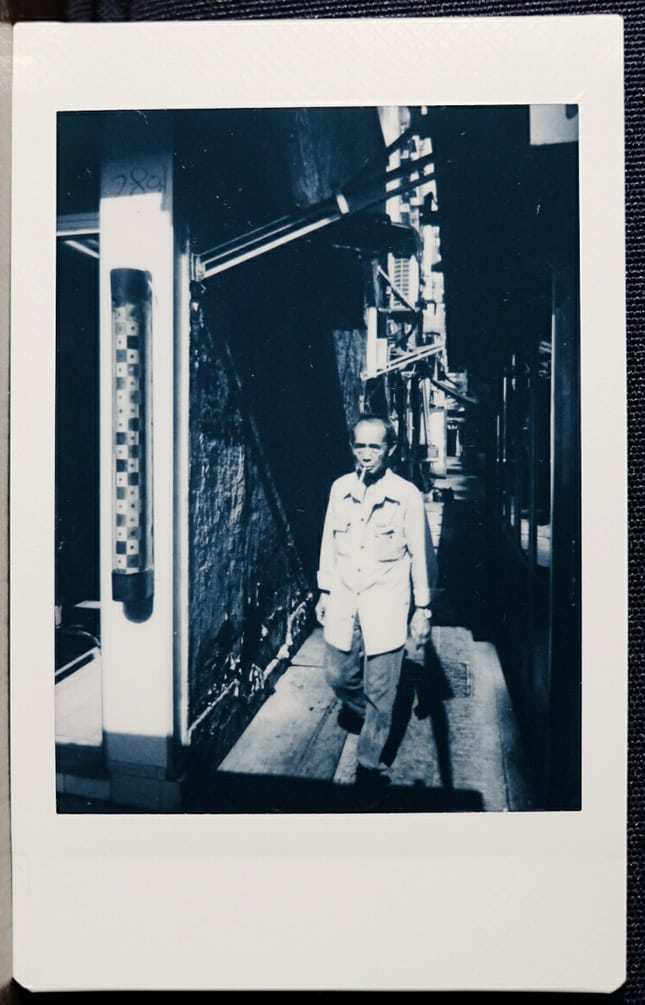 Photographer: Tommy Chong Title: Bay Boy Location: Sham Sui Po, Kowloon, Hong Kong Camera: Fuji Instax Mini 7S