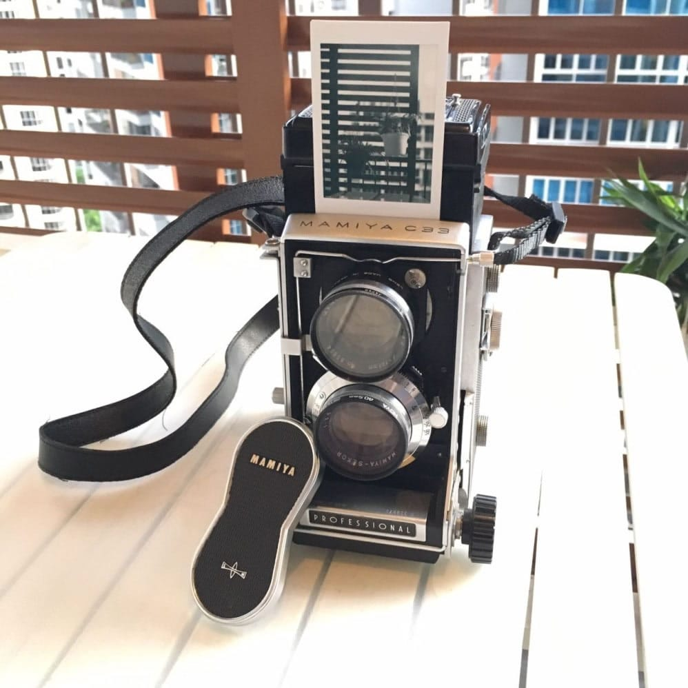 Camera review: Me and my Mamiya C33 TLR with Instax back