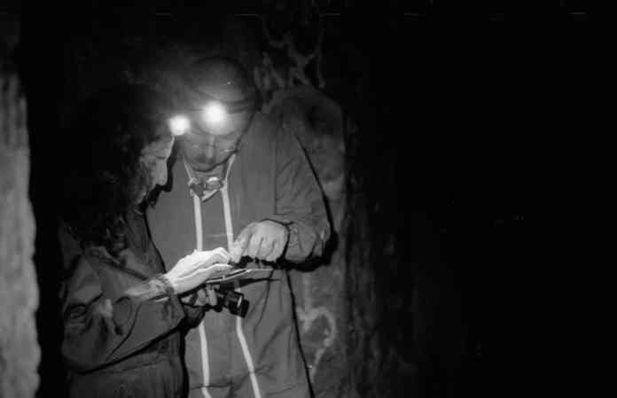 Getting lost, deep underground