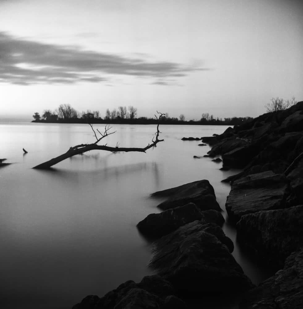 Long Exposure Test - ILFORD PAN F+ - EI: 50 - Aperture: f/11 - Shutter: 54s
