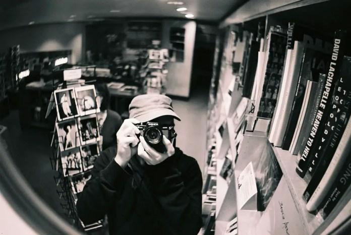 Dublin - Yashica FX3 2000 - Self portrait - A random false black and white film