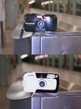 Olympus MJU vs the Canon Prima Mini - Side by...er, side