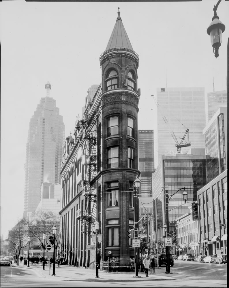 Paper negatives part 3 - Flat Iron Building