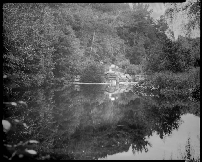 Paper negatives part 3 - Ghosts on the Bridge