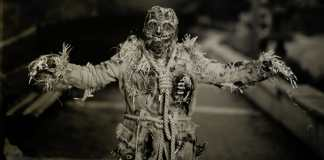 Paper negatives part 3 - Zombie Mummy