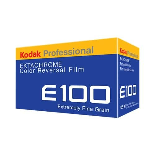 Kodak EKTACHROME 100 - Box render
