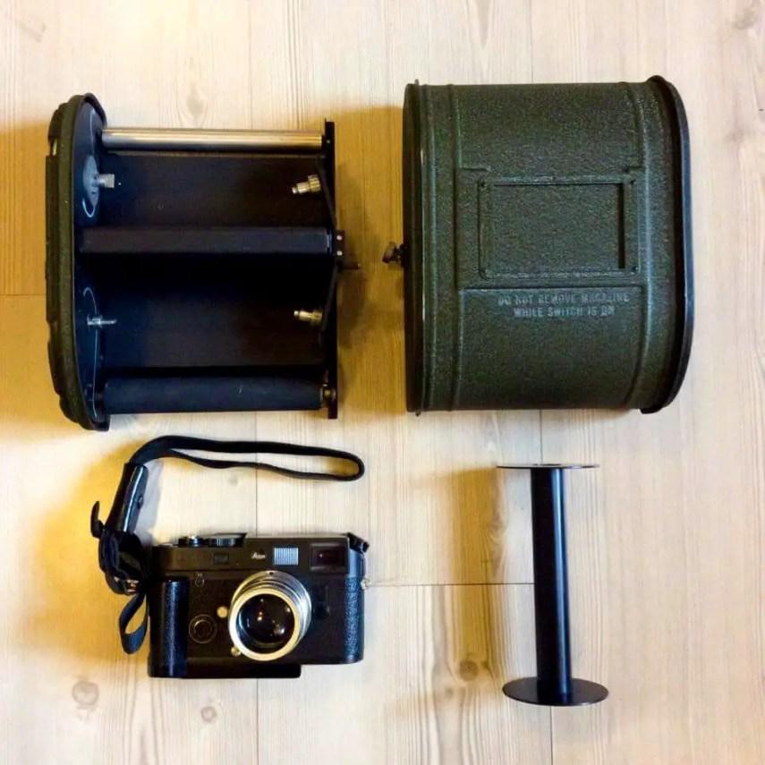 Kodak K-24 - Film Back