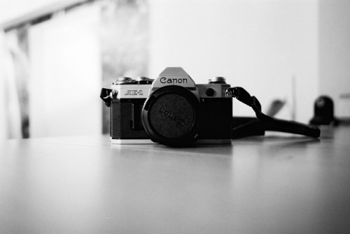 Canon porn - Shot on Kodak T-MAX 100 at EI 100. 35mm Black and white film in 35mm format.