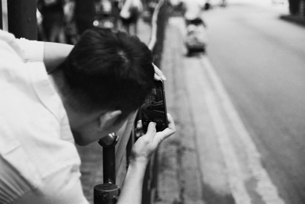 Streetshooter - Shot on ADOX Silvermax 100 at EI 100. Black and white negative film in 35mm format.