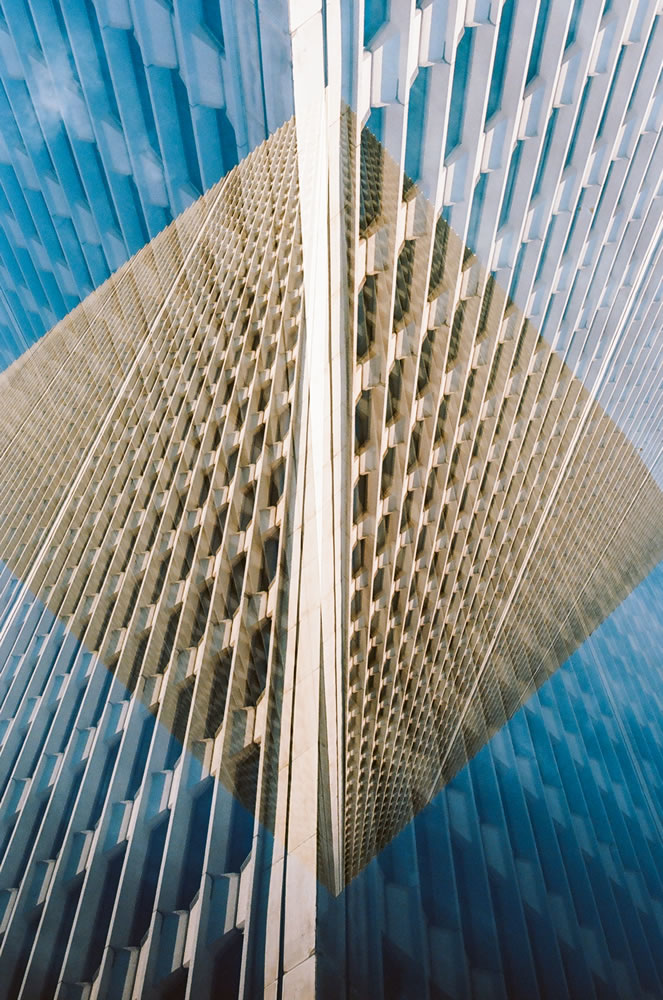 One Woodward Avenue, Minolta SRT-102, Kodak Ektar 100