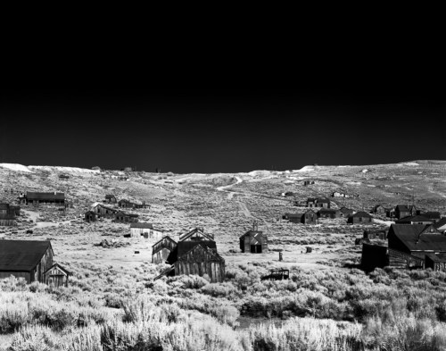 Bodie Infrared - Rollei Infrared 400 shot at EI 6. Black and white infrared negative film in 4x5 format. Graflex Speed Graphic 1957 - Kodak Anastigmat 161mm f:4.5
