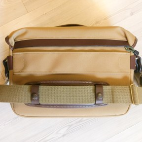 Billingham Hadley One - Rear, with shoulder strap