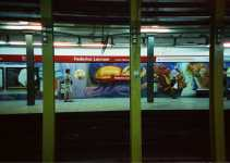 Film review: Cinestill 800T vs Fuji 800 (35mm) inside the Buenos Aires underground aka Subterranean Explorations