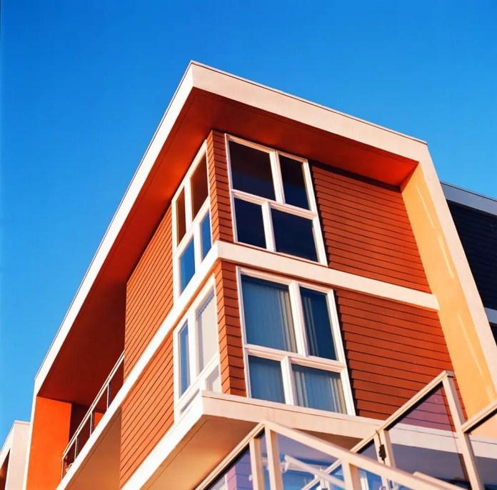 Apartment building - Hasselblad 500C/M, Kodak Ektar 100
