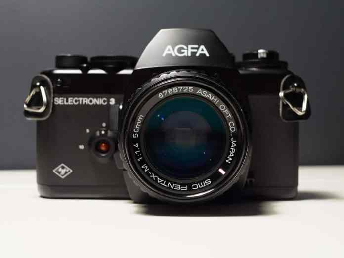 Agfa Selectronic 3 - Front view