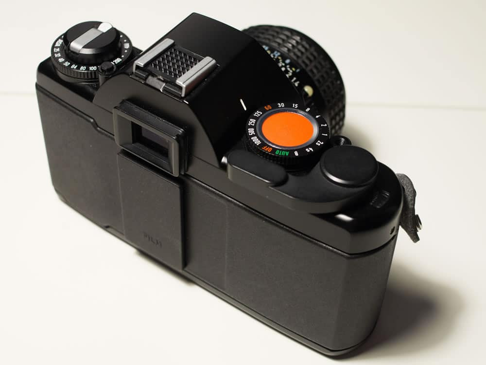 Agfa Selectronic 3 - Top rear view