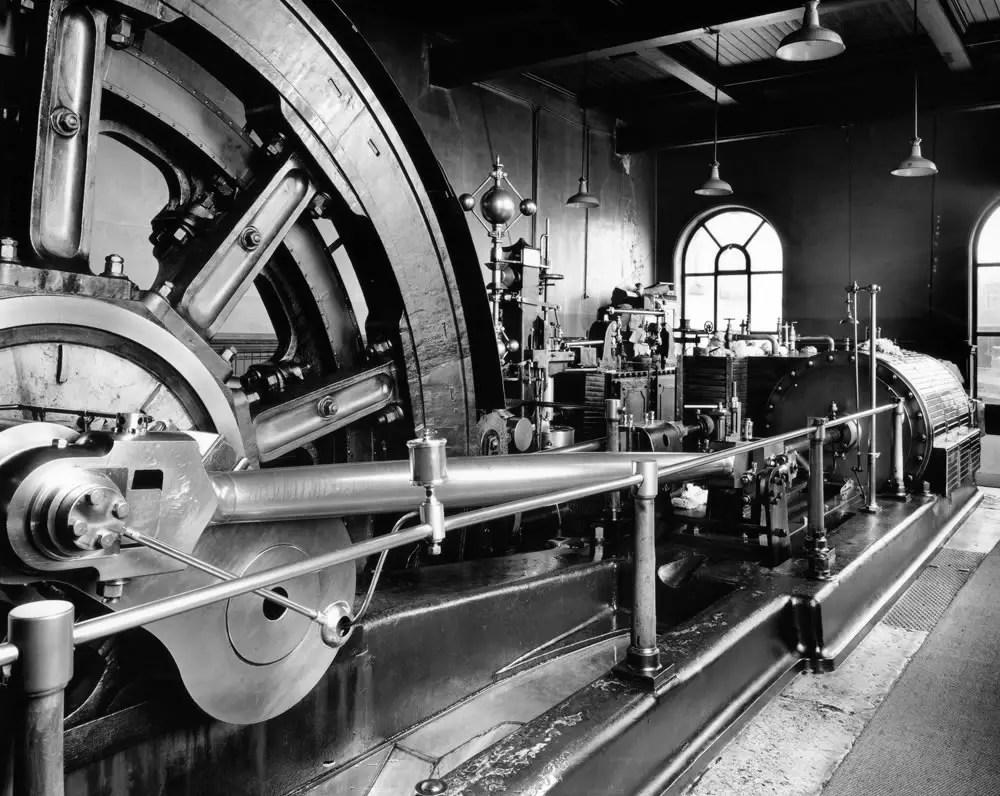 Progress Mill, Padiham England. Sinar F, Schneider 90mm Super Angulon