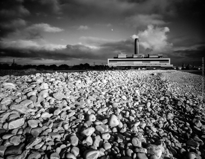 Aberthaw Power Station - Intrepid 5×4, Schneider Super Angulon 90mm on Fomapan 100