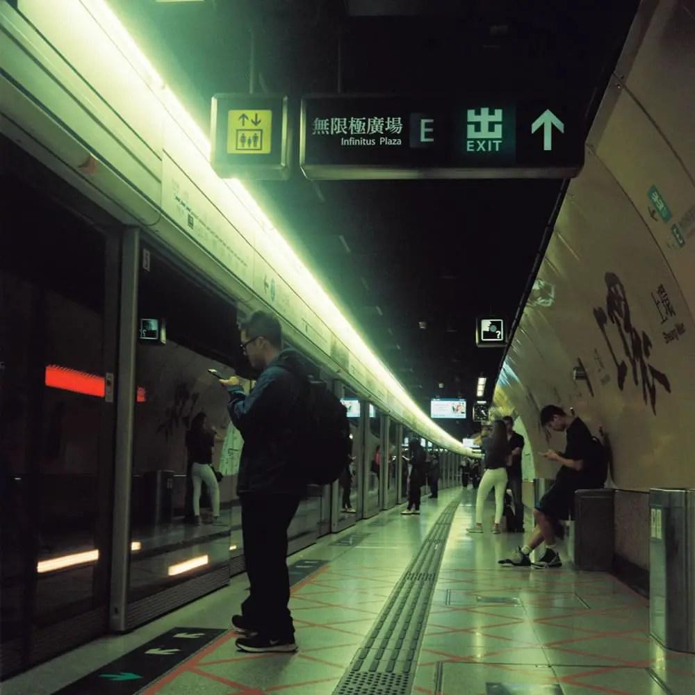Sheung Wan, subway- Kodak Portra 800 - Fuji GS645W
