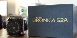 Bronica S2A - Front
