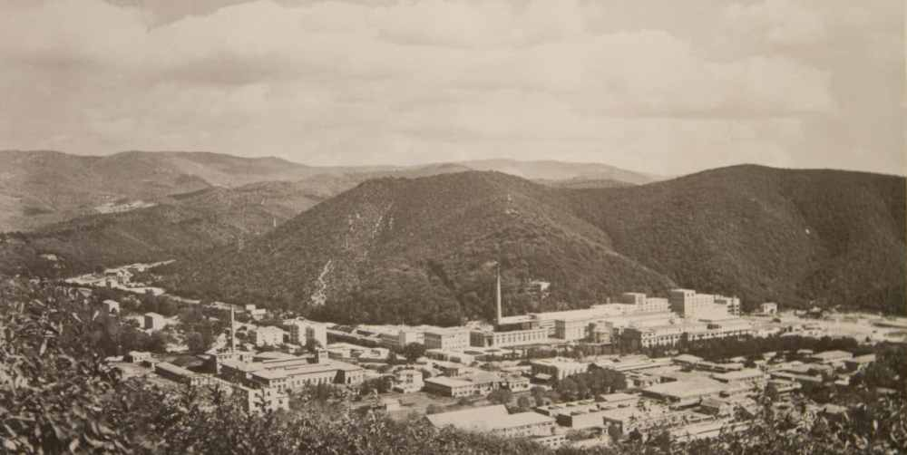 The Ferrania campus in 1918 (archival image courtesy FILM Ferrania)