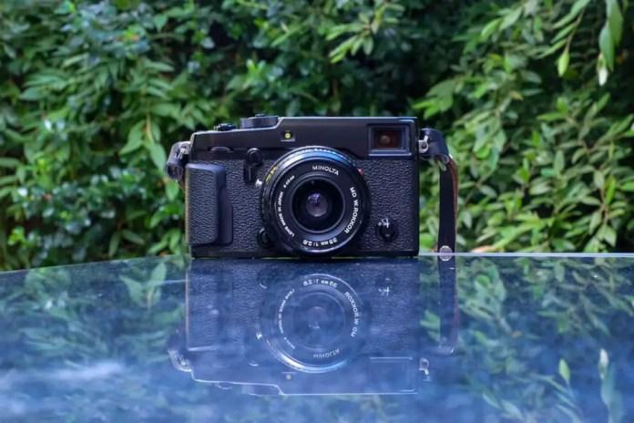 Fuji X-Pro2 with Rokkor 35mm f/2