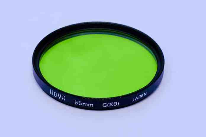 Hoya XO Green Filter