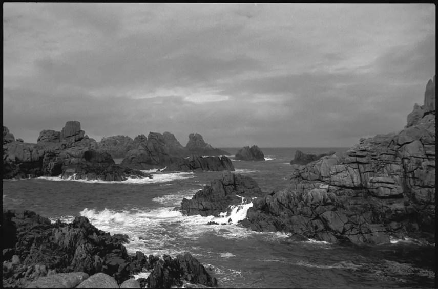 "Ouessant Island, Brittany, France"" 1991. Pentax SuperA. Agfapan APX 25asa. Rodinal 1+50"