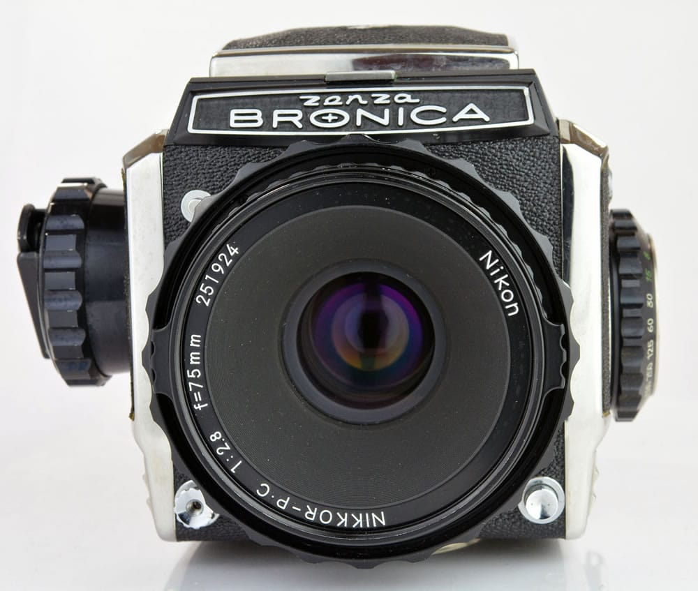 Zenza Bronica S2A - Front