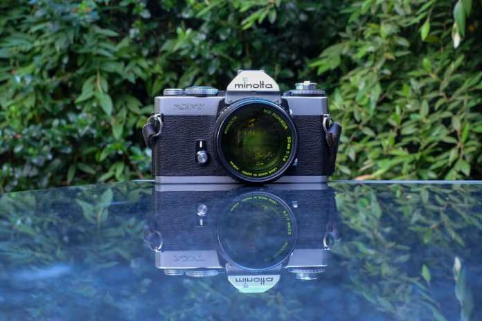 Minolta XD7 with Rokkor 50mm f/1.4