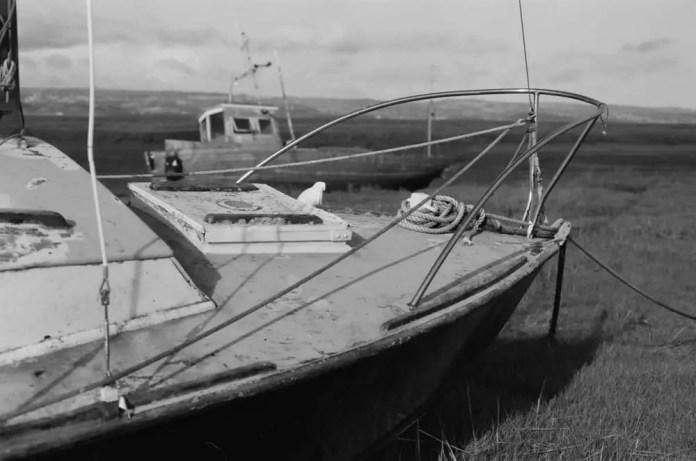 Nose of boat - Minolta XD7
