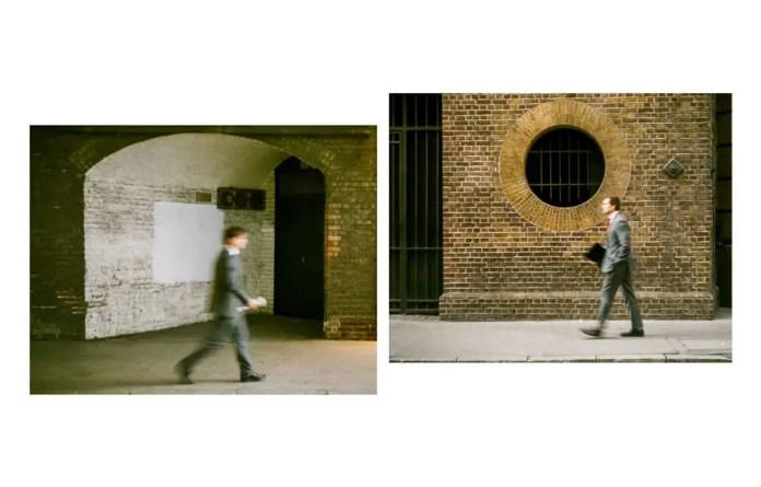 Opposite walking, Leica M6, Kodak Portra 800, London 2015