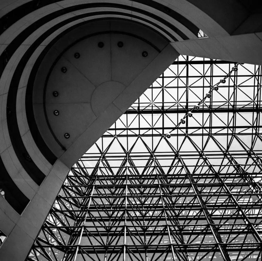 Andre Thibault - @art569 JFK library,Boston @EMULSIVEfilm #SummerFilmParty #ifordpanf #Abstract #Hasselblad #believeinfilm