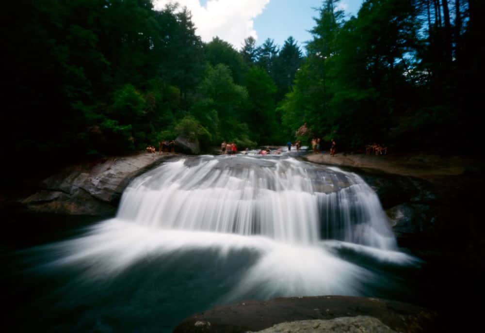 II - @3eyedmonster Cooling Off #terraPin6x9 #Ektar #pinhole #3dprintedcamera #landscape #SummerFilmParty #believeinfilm #nclife Exposure 4 seconds