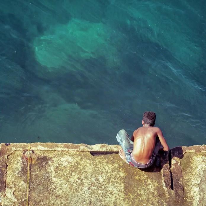 Adib Mufty™ - @AdibMufty On the edge... #SummerFilmParty Category:#Streetlife Location: Beirut -Lebanon {#Hasselblad 500cm, #Kodak ektar 100} #filmphotography