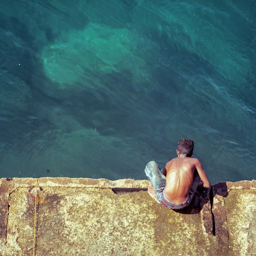 Adib Mufty™ - @AdibMufty On the edge... #SummerFilmParty Category:#Streetlife Location: Beirut -Lebanon {#Hasselblad 500cm, #Kodak ektar 100} #filmphotography