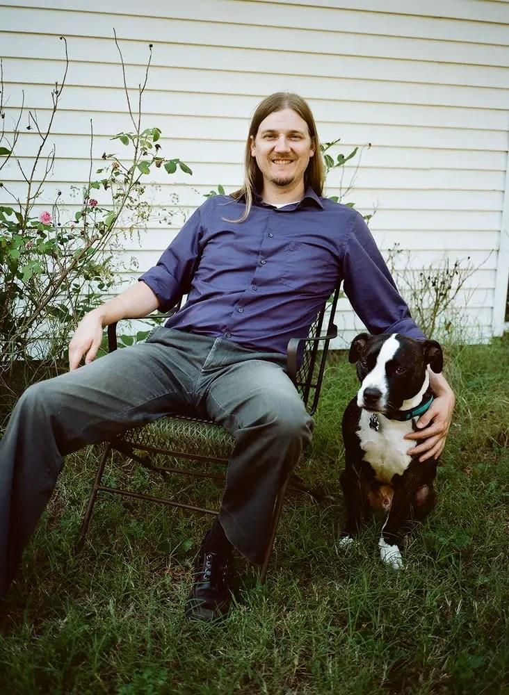 Moses and Bear - Kodak Portra 160 - Fuji GS 645S