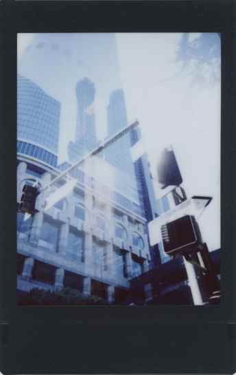 Leica Sofort - Double Exposure - Instax Mini Color