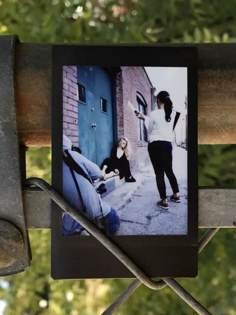 Leica Sofort - Portrat Shoot - Instax Mini Color
